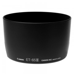 佳能/Canon ET-65III遮光罩(适用:EF 85/1.8;EF100/2;EF 135/2.8 Soft Focus ;EF 100-300/4.5-5.6U镜头) 行货机打发票 可开具增值税专用发票