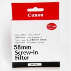 佳能/Canon 原厂 58mm 保护镜 行货机打发票 可开具增值税专用发票