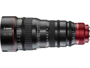 佳能/Canon 电影镜头 CN-E14.5-60mm T2.6 L S/SP 镜头