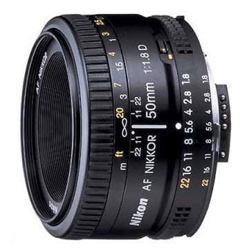 尼康/Nikkor AF 50mm f/1.8D [50/1.8] 镜头 行货机打发票 可开具增值税专用发票
