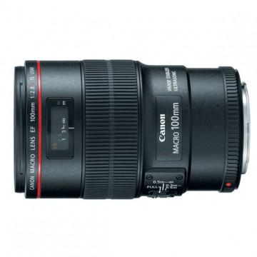 佳能/Canon EF 100mm f/2.8L IS USM 微距 [100/2.8] 镜头.67(新百微)行货机打发票 可开具增值税专用发票
