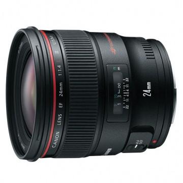 佳能/Canon EF 24mm f/1.4 II L USM [24/1.4] 镜头 行货机打发票 可开具增值税专用发票