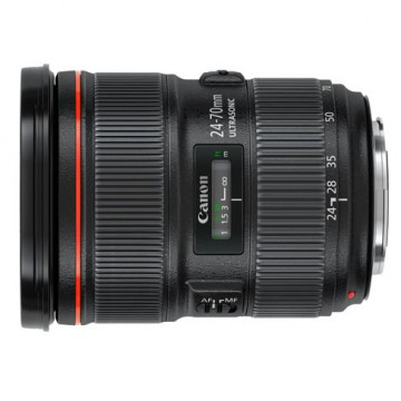 佳能/Canon EF 24-70mm f/2.8L II USM 镜头.82 二代 行货机打发票