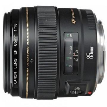 佳能/Canon EF 85mm f/1.8 USM [85/1.8]镜头.58 行货机打发票 可开具增值税专用发票