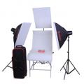 金贝摄影灯DII-250W*2闪灯摄台套装 适合饰品静物等多功能拍摄