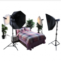 金贝DPIII-600W*4专业摄影灯套装 适合大型家具电器/车具/专业人像婚纱
