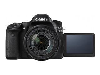 佳能/Canon EOS 80D 套机(18-135)套机行货机打发票 可开具增值税专用发票