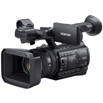 索尼/SONY PXW-Z150 1英寸4K CMOS 小巧手持式广播级摄录一体机 仅重1.9KG 支持120FPS高帧率高清慢动作拍摄 行货机打发票 可开具增值税专用发票