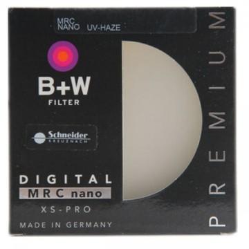德国/B+W  XSP MRC 58mm 超薄多层纳米镀膜UV镜  行货机打发票