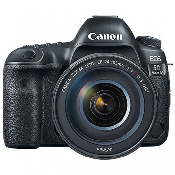 佳能/Canon EOS 5D MarkIV  5D4 (24-70mm f/4L IS USM)套机行货机打发票 可开具增值税专用发票