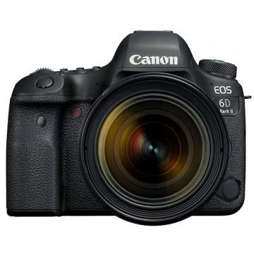 佳能/Canon EOS 6D MarkII(24-105/4 II红圈)6D2+24-105II单反套机 行货机打发票 可开具增值税专用发票