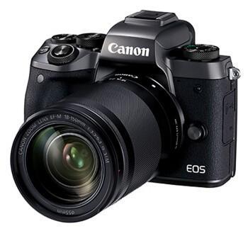 佳能/Canon EOS微型可换镜数码相机 微单/单电相机 佳能 EOS M5 (EF-M 18-150 IS STM镜头)套机