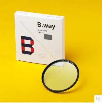 英国兰道/B.way PRO-MRC 多层镀膜 铜圈UV镜 67mm 行货机打发票 可开具增值税专用发票