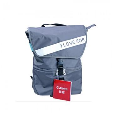 佳能/Canon EOS单反相机包 摄影背包 佳能原装摄影包 (乐游季双肩包) 深蓝色 行货机打发票 可开具增值税专用发票