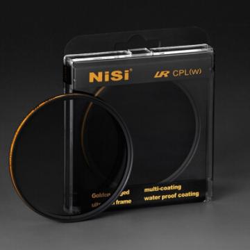 耐司/NiSi LR CPL 双面多层镀膜低反射金环偏振镜 72mm 行货机打发票 可开具增值税专用发票