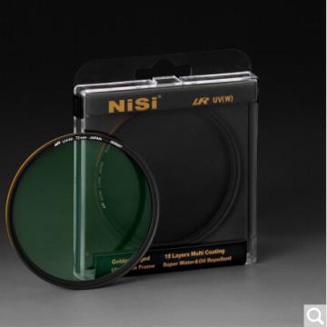 耐司/NiSi LR UV 双面多层镀膜低反射金环UV镜 72mm 行货机打发票 可开具增值税专用发票