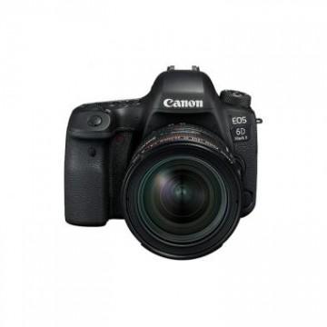 佳能/Canon EOS 6D Mark II (EF 24-70mm f/4L) 6D2单反套机 行货机打发票 可开具增值税专用发票