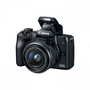 佳能/Canon EOS M50 单头套机 EF-M 15-45 套机 黑色