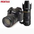 宾得(PENTAX) K-1全画幅单反相机 GPS电子罗盘 wifi 宾得K1 宾得24-70/70-200mmF2.8双头套装