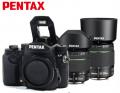 宾得/PENTAX  KP 新品复古单反相机 宾得KP 含DA18-55/DA50-200黑色套装 官方标配