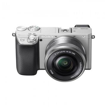 行摄六月 索尼/SONY ILCE-6400/16-50 APS-C画幅微单 数码相机 6400黑色/银色套机 行货机打发票 可开具增值税专用发票