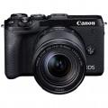 新.佳能/Canon EOS M6 套机(18-150mm)微单相机套机 (黑色/银色) 6II M62 M6markII